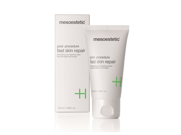 Mesoestetic : post-procedure - Fast skin repair